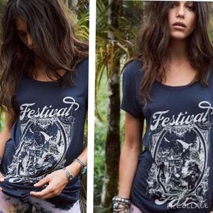 Spell And The Gypsy Collective Festival Fox Tee